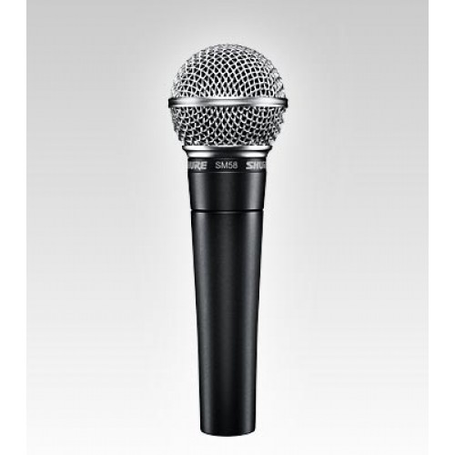 Photo of Shure SM58 vocal microphone